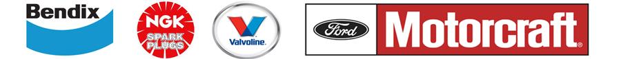 Dick Ralston Automotive use Bendix, NGK, Valvoline, and Motorcraft products